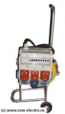 Удлинитель на тележке колесах РВМ Электромаркет