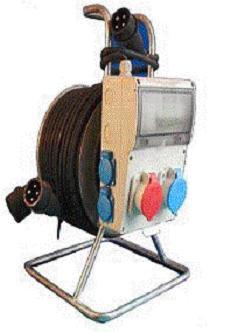 Удлинитель с блоком распределения и защиты РВМ Электро - щиток 50 метров 4-18-1071