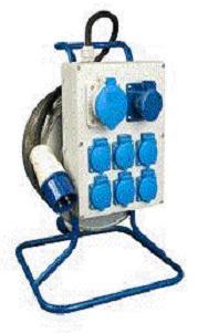 Удлинитель 220В с блоком распределения 40 метров (щиток с удлинителем) РВМ Электро