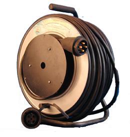 Удлинитель на катушке промышленный трехфазный РВМ Электромаркет