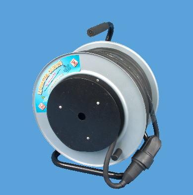 Удлинитель на металлической катушке РВМ Электро, 1 розетка