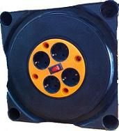 Удлинитель в корпусе с защитой 4 розетки РВМ Электромаркет кабель КГ