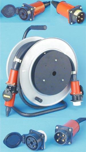 Удлинитель электрический РВМ Электро для подключения железнодорожного инструмента