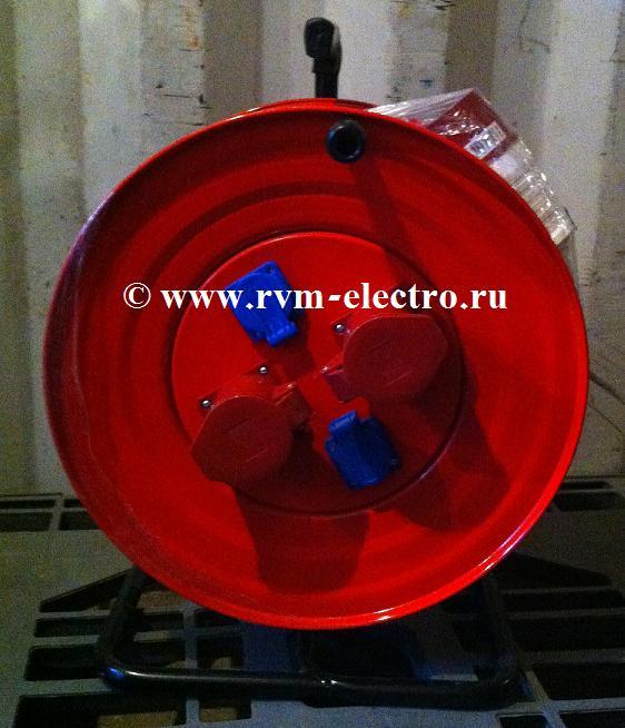 Удлинитель 63А на катушке - РВМ Электромаркет